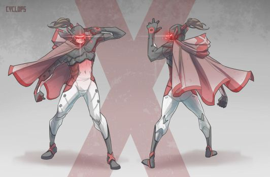Cyclops Redesign by BrotherBaston