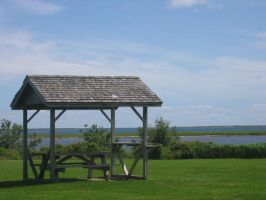 Fox Harbour Provincial Park by Aeltari