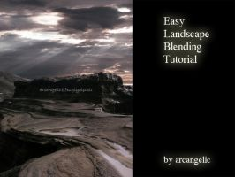 Easy Landscape Blending Tut by arcangelic