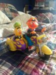 Bert and Ernie Revin' Sounds Motorcycle by JamestheRedEngine91