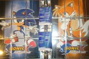 .:Sonic X Cards:. EA + S Back by SEGAMew