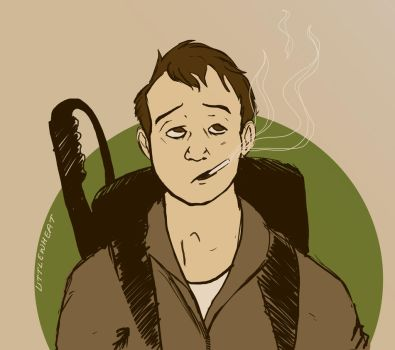 Bill Murrary: Ghost Buster. by LittleWheat