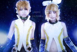 Append Kagamine by Maho-Urei