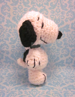 Wee Lil Snoopy Amigurumi Crochet Doll by Spudsstitches