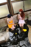 Love Hina: in the onsen 1 by Dolly-chan