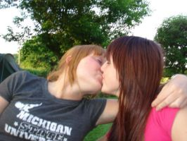 Hot Lesbians by beness