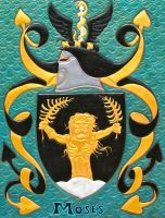 MOSES Coat of Arms by Montalto69