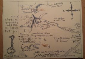 Map of Erebor by DominikFanta