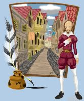 Shakespeare color by anapeig