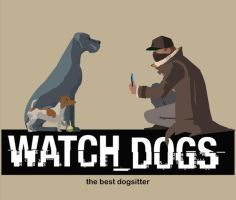 Watch Dogs Sitter by Guidux92