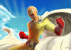 One Punch Man by Jonny5Alves