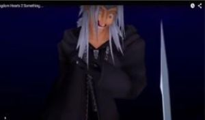 Xemnas creepy face of glitching [DO NOT OWN] by CielPhantomhivex1