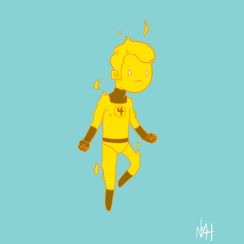 Johnny Storm (The Human Torch) by TheFutureFoundation