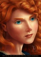 Merida - Brave by LuzTapia