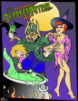 OktoberFetish 2014~Halloween Color Me Sexy again! by bare-feet99