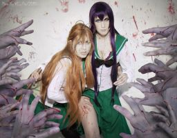 Saeko High School Of The Dead by Lyriel-Rangiku
