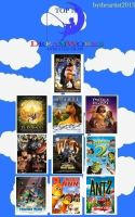 My Top 10 Dreamworks Animated Films by ClopinGirl64