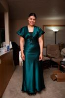 Bridesmaid dress front by SDA-MessengersOracle