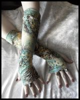 Rebirth Arm Warmers by ZenAndCoffee
