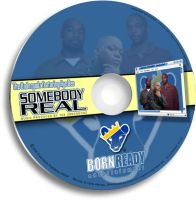 CD mock-up for Somebody Real by Tigga76