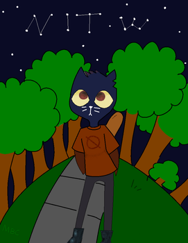 Night in the Woods by MBC-MonsterBlueCat