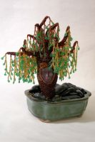Gia - Beaded Willow Tree by jardan