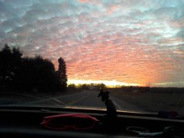 The Sky (Car View 1) by Emily-artfreak-nerd
