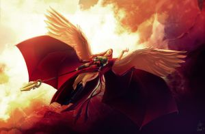 Commission Print by kcspaghetti