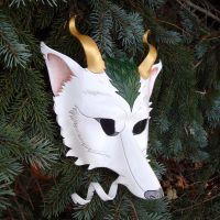 Haku Mask by merimask