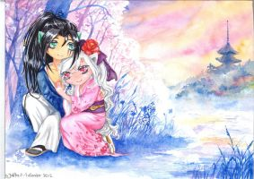 I'll be waiting for you... [in love with samurai] by JolitaSondor