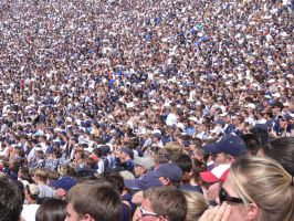 Penn State Football Game by sampl