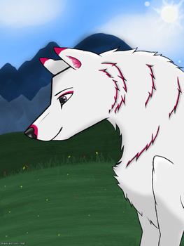 Silver by WolvesLover2014