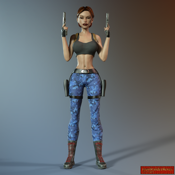 Classic Raider 71 by tombraider4ever