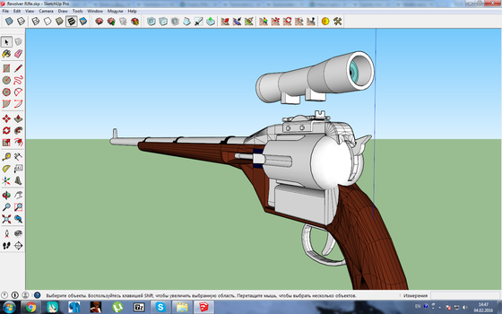 Revolver rifle for MMD WIP7 by MasterOfHelium
