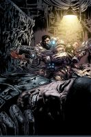GoW issue 11 cover by LiamSharp