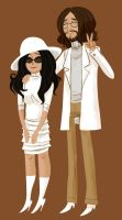 John and Yoko by hanime87
