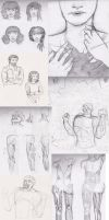 Sketches May13 by Seadre