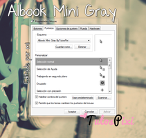 Cursor Albook Mini Gray by TutosPixi