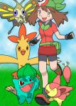 May and Her Pokemon by Kanda88