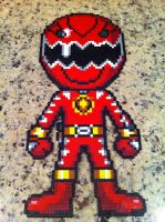 Power Rangers Dino Thunder Red by powerranger02