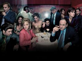 The Sopranos - Wallpaper by Red-Light-Design