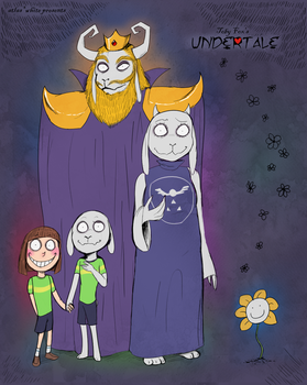 Undertale - The Royal Family by Atlas-White