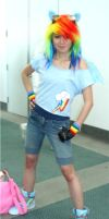 Rainbow Dash Cosplay by Gaaras-Chocolate