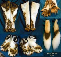 African Wild Dog Accessories by Magpieb0nes