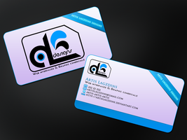 Business card by artislagzdins