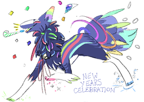 Happy New Year !  :CLOSED: by Sept-creature