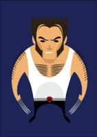 WOLVERINE VECTOR by aners56