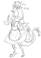 Maid Discord by Lyra-Kotto