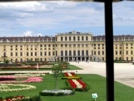 Schonbrunn Palace ~ View from carriage by SeelederZukunft