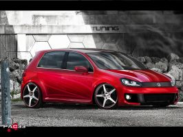 Volkswagen Golf VI by pacee